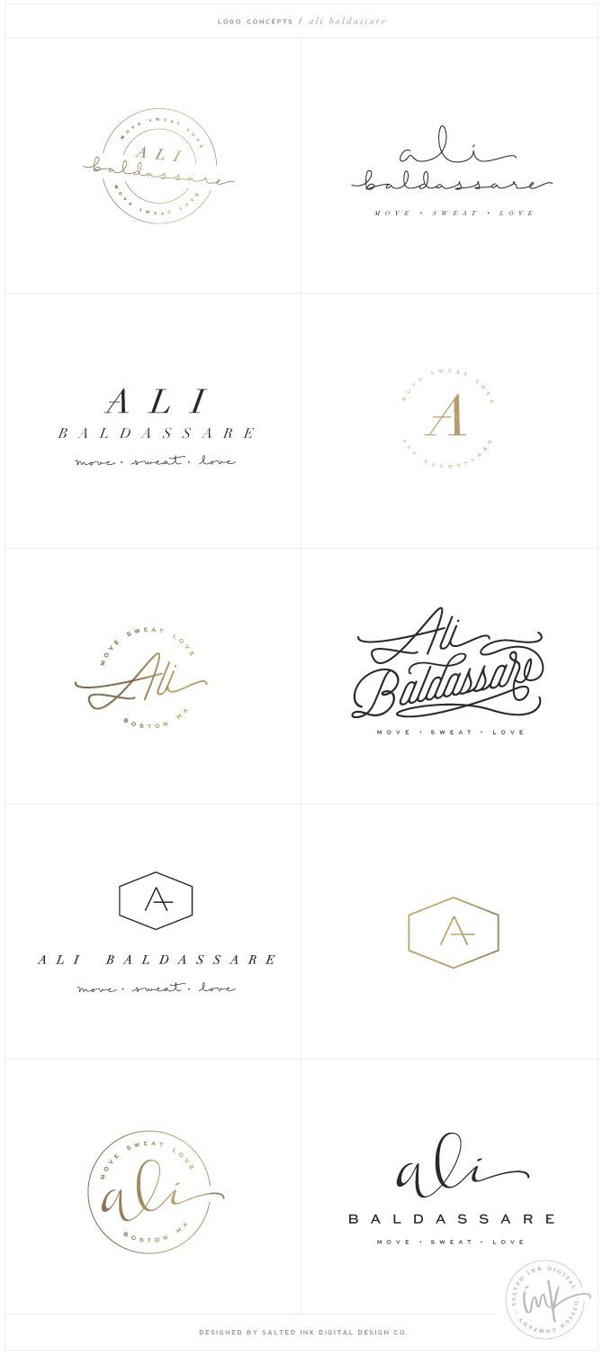 Brand Launch: Ali Baldassare by Salted Ink – Fitness Brand Design – www.saltedink.com – Brand Stylist