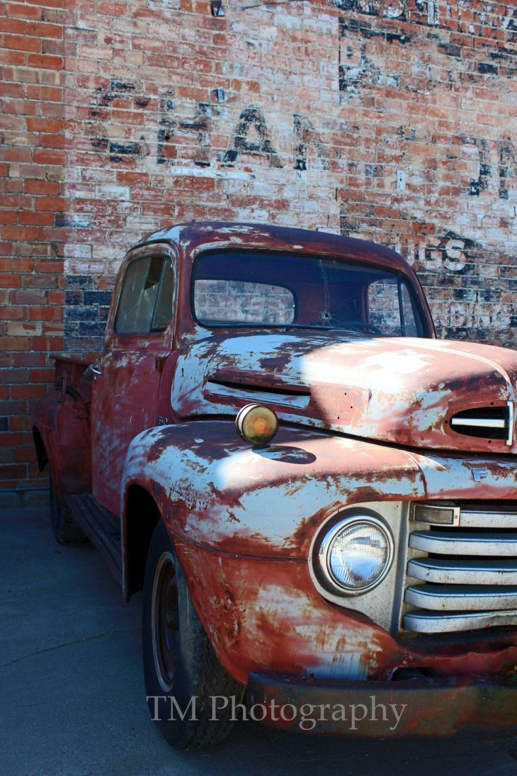 Vintage Ford Truck Photography Old Truck Photo door turquoisemoon