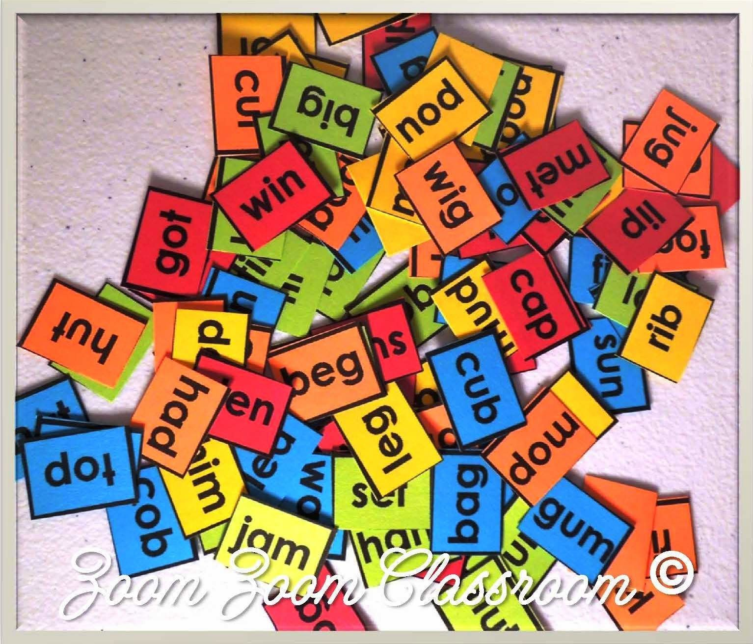 Free 100 Cvc Words For The 100th Day Of School Use Them