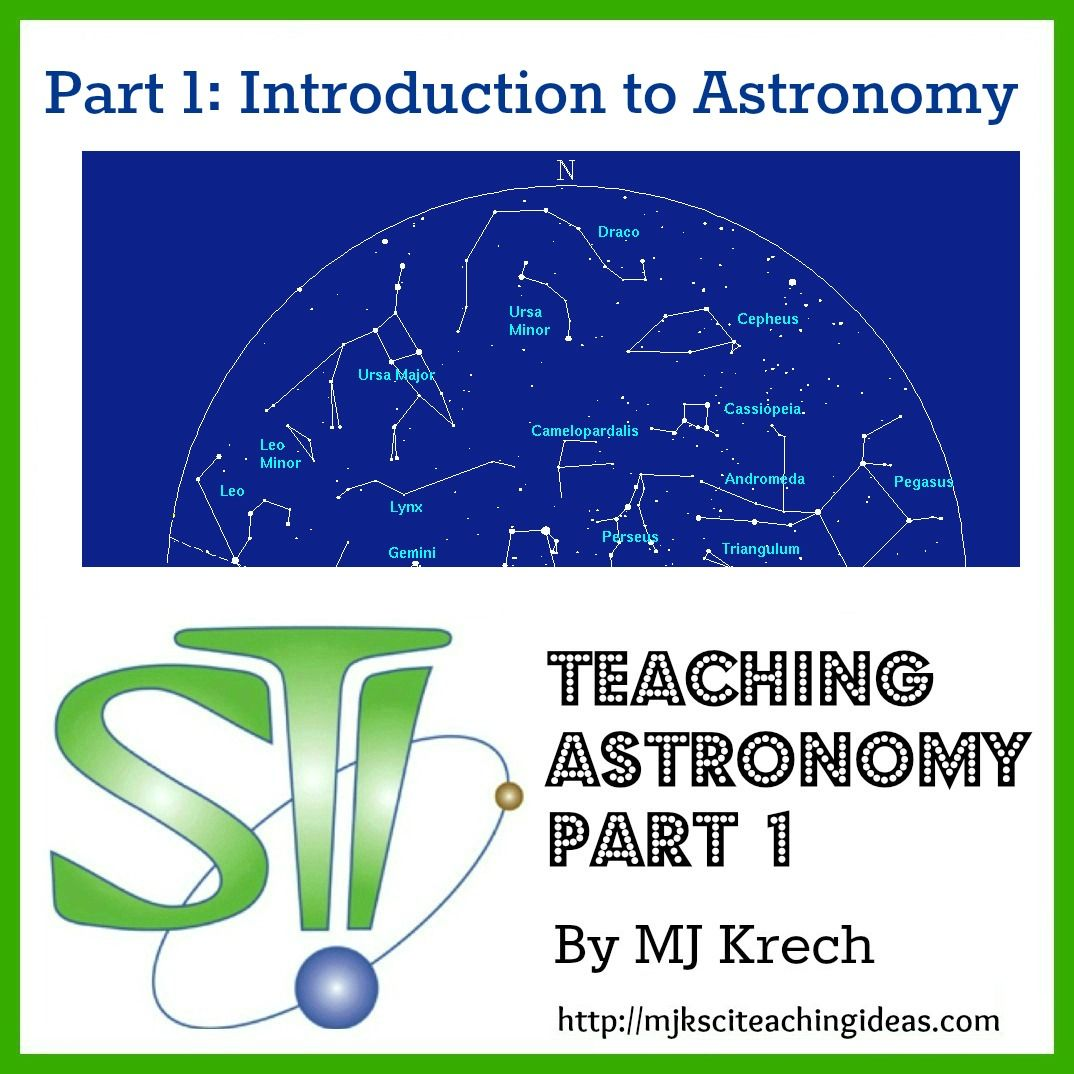 Teaching Astronomy Part 1 Introduction To Astronomy By Mj