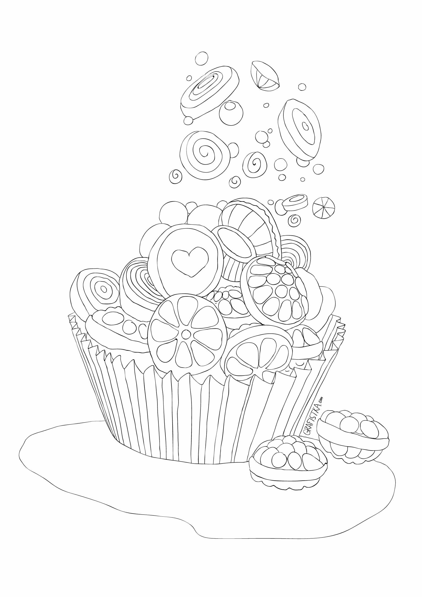 Icolor Cupcakes X