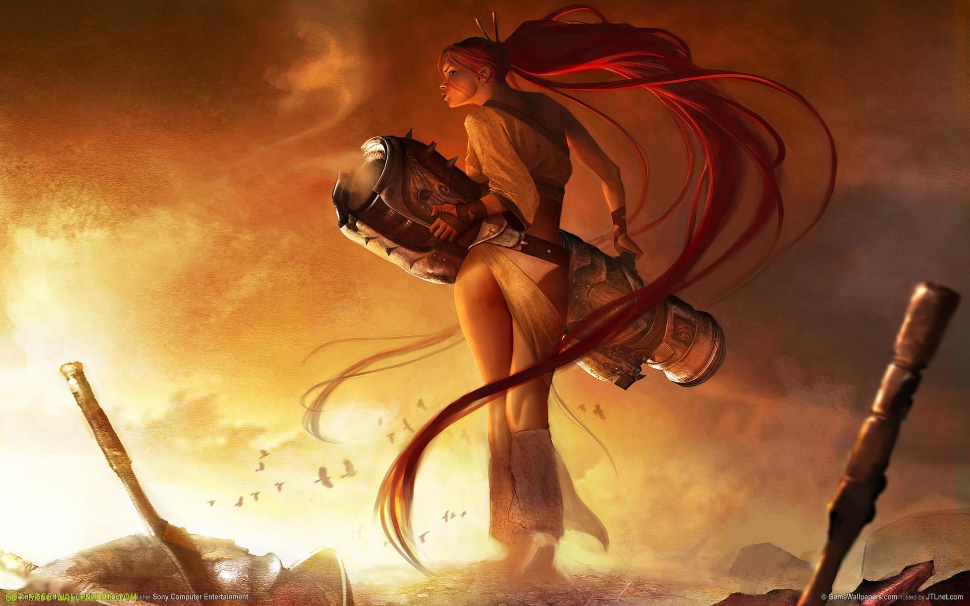 click here to download in hd format >> heavenly sword game http