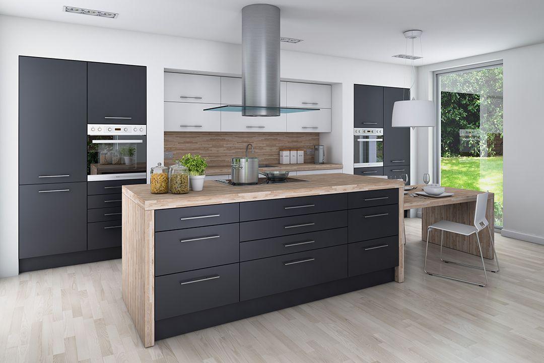 kitchen wko graphite dark grey fitted kitchen grey kitchen ideas grey kitchen trendy photo on kitchen ideas gray id=61920