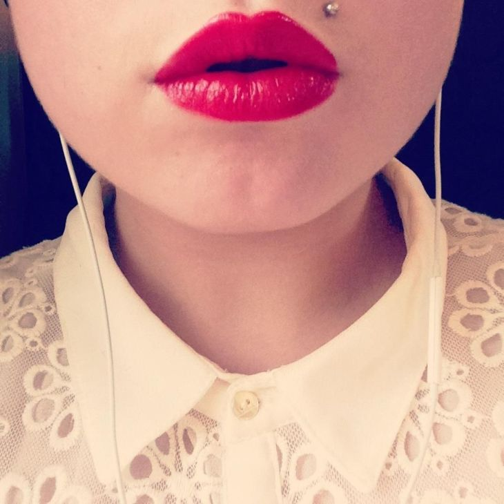 Monroe piercing Camille Blais Anders I saw a lady who had one with