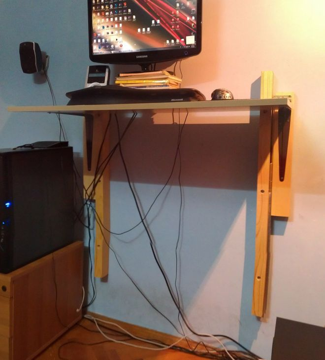 Cheap diy standing desk