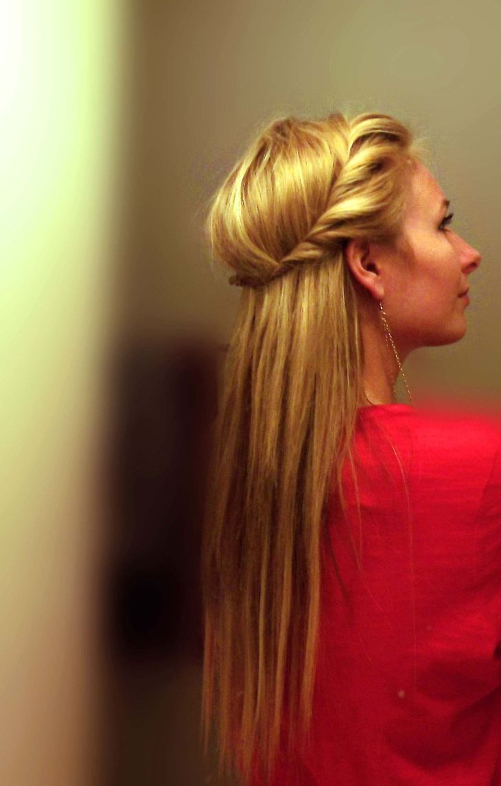 Stunning How To Front Side Twist Hairstyle Quick U Easy Pic For And