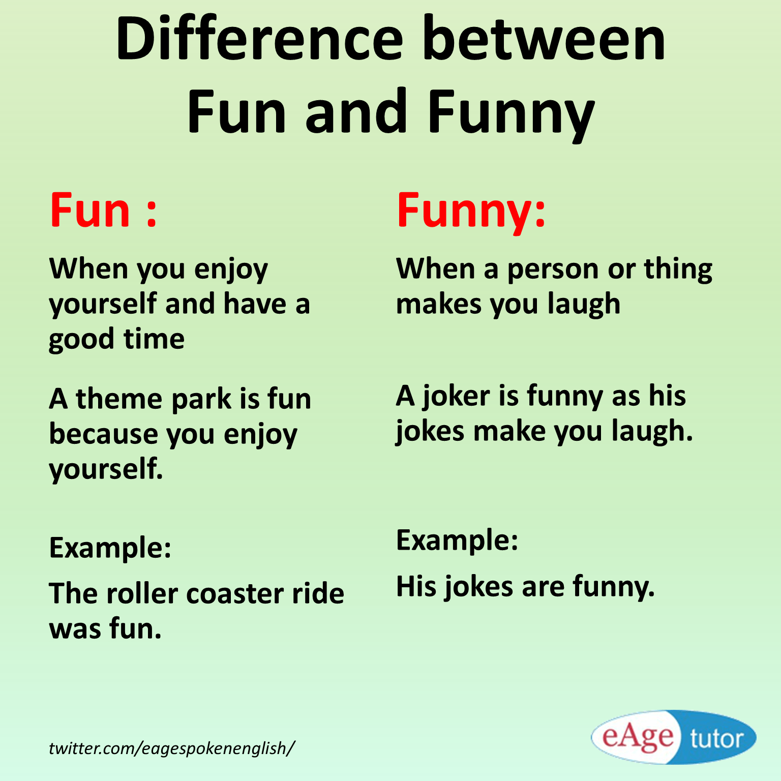 Difference Between Fun And Funny