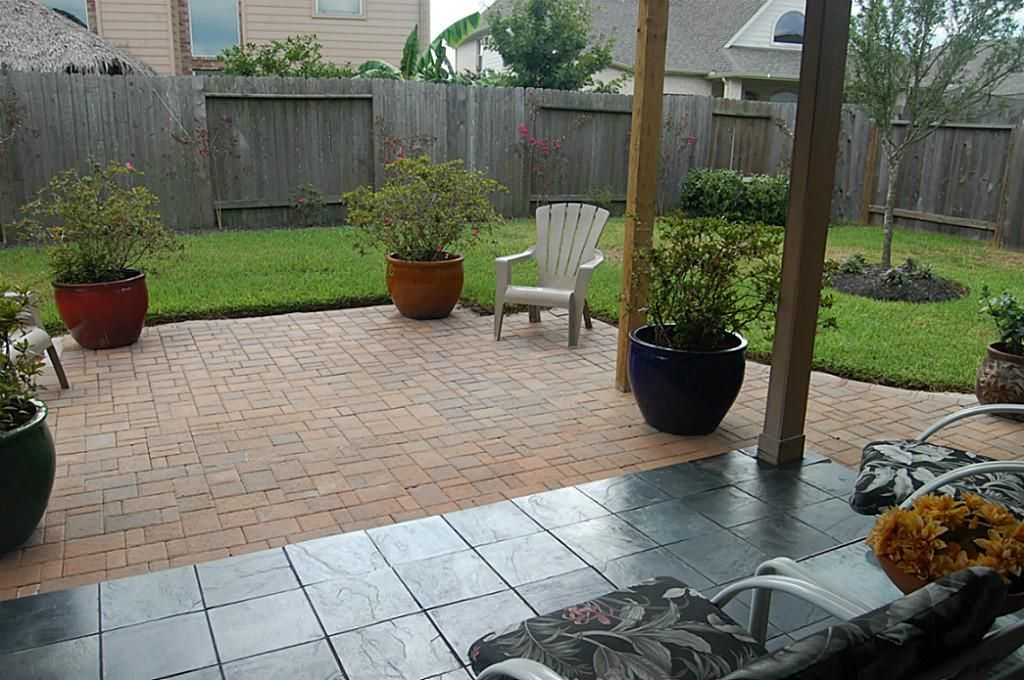 adding pavers to extend existing patio - Google Search ... on Backyard Patio Extension Ideas id=46734