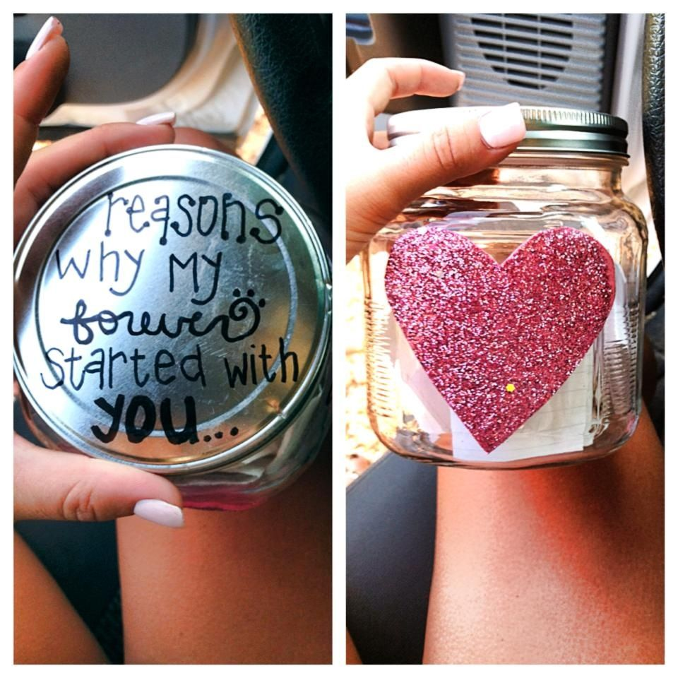 Diy anniversary gifts for him boyfriends gift and