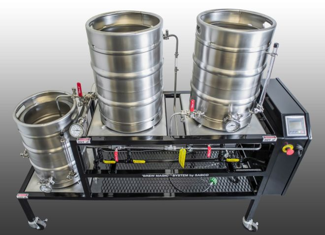 Brewmagic v350ms system by sabco home brew ultimate