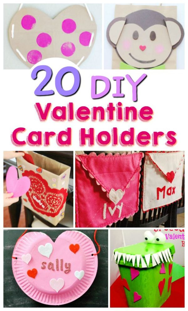 Check out these cute DIY Valentine Card Holders, perfect ...