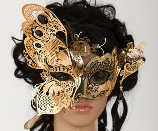 elaborate butterfly vanity mask 45 from MaskenZauber.com € ...