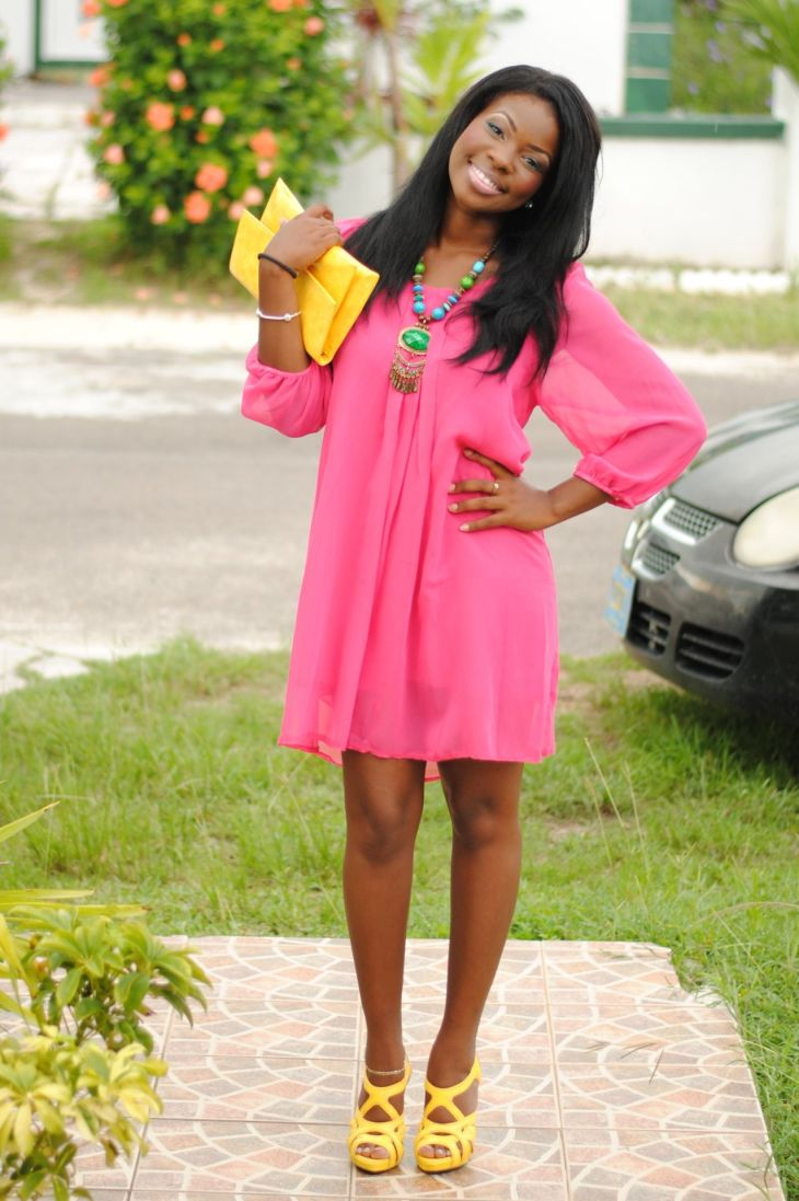 love her dress Style Pinterest Love the Color combos and Outfit
