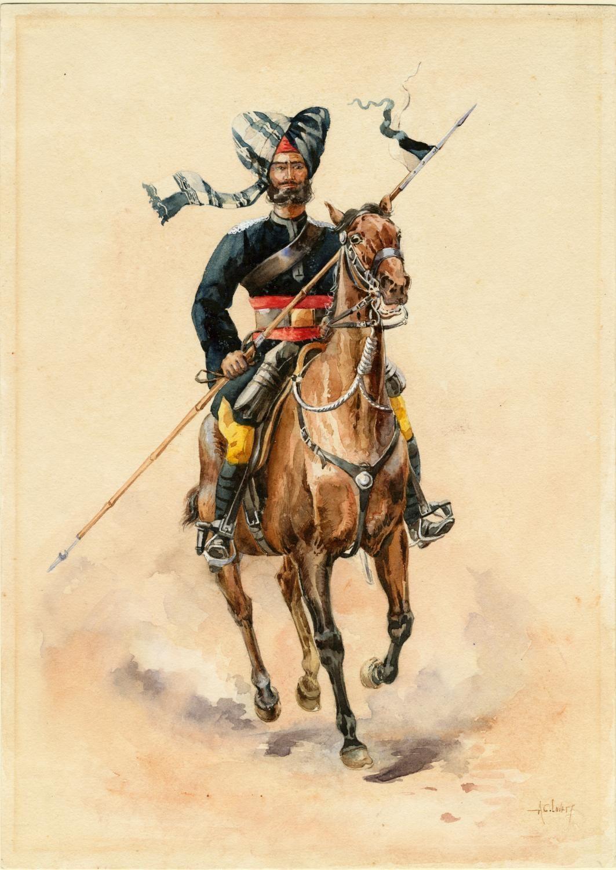 Sowar 2nd Bengal Lancers Gardner S Horse C By Ac