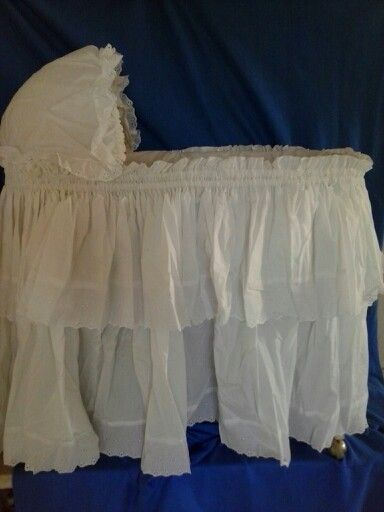Bassinet Skirt And Hood Cover Baby Decorations