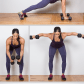 Dumbbell exercises provide a great fullbody workout in a compact