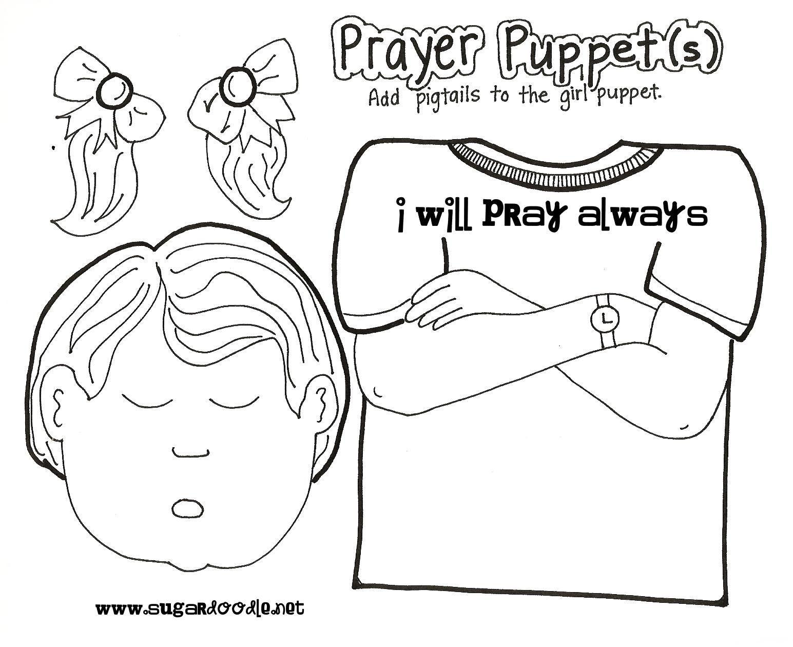 News With Naylors Prayer 2 Prayer Puppets Prayer