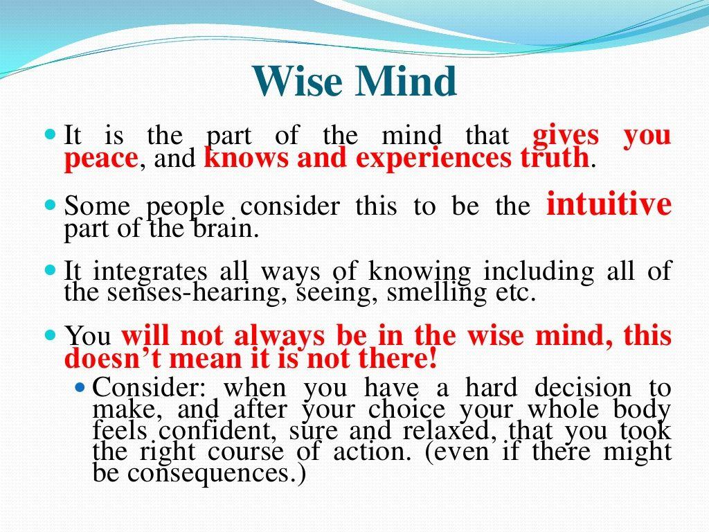 Rational Mind Worksheets