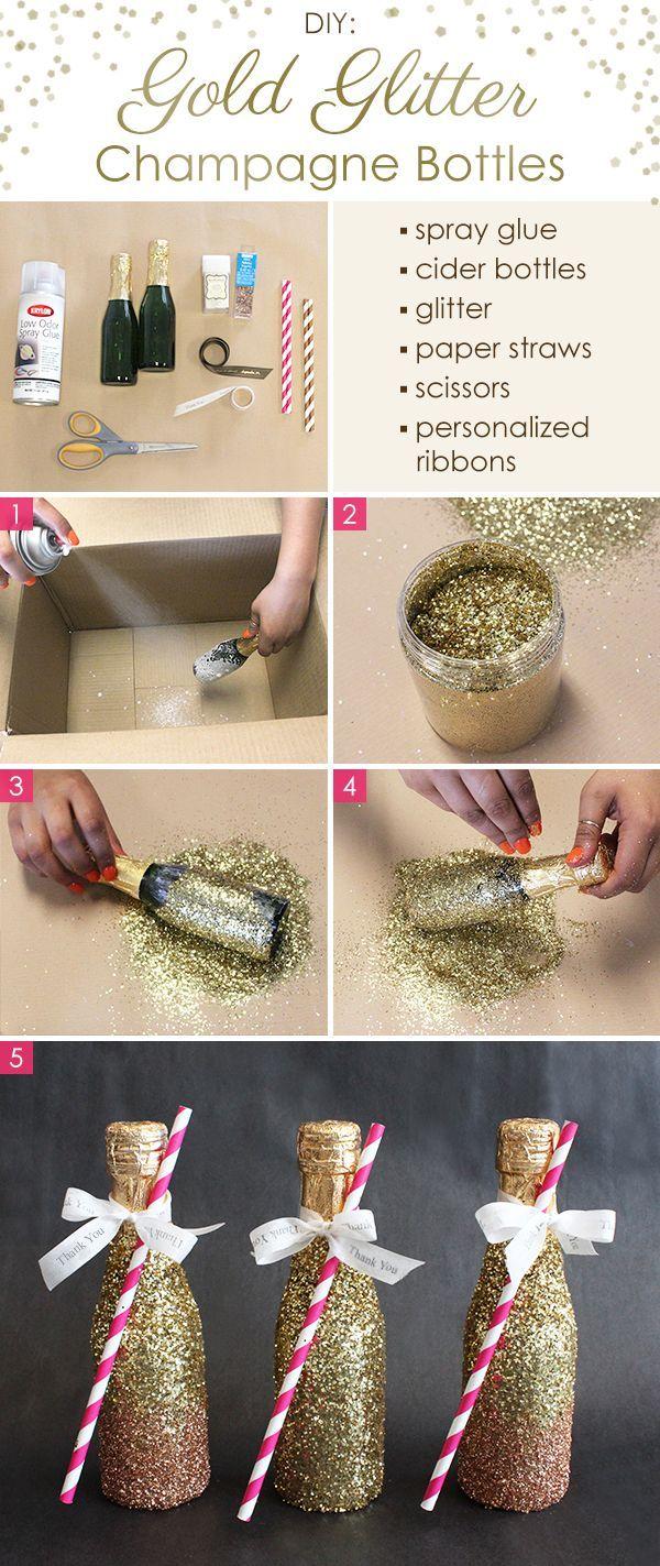 DIY Wedding Ideas u  Simple u Fun Glitter DIY Crafts  DIY wedding
