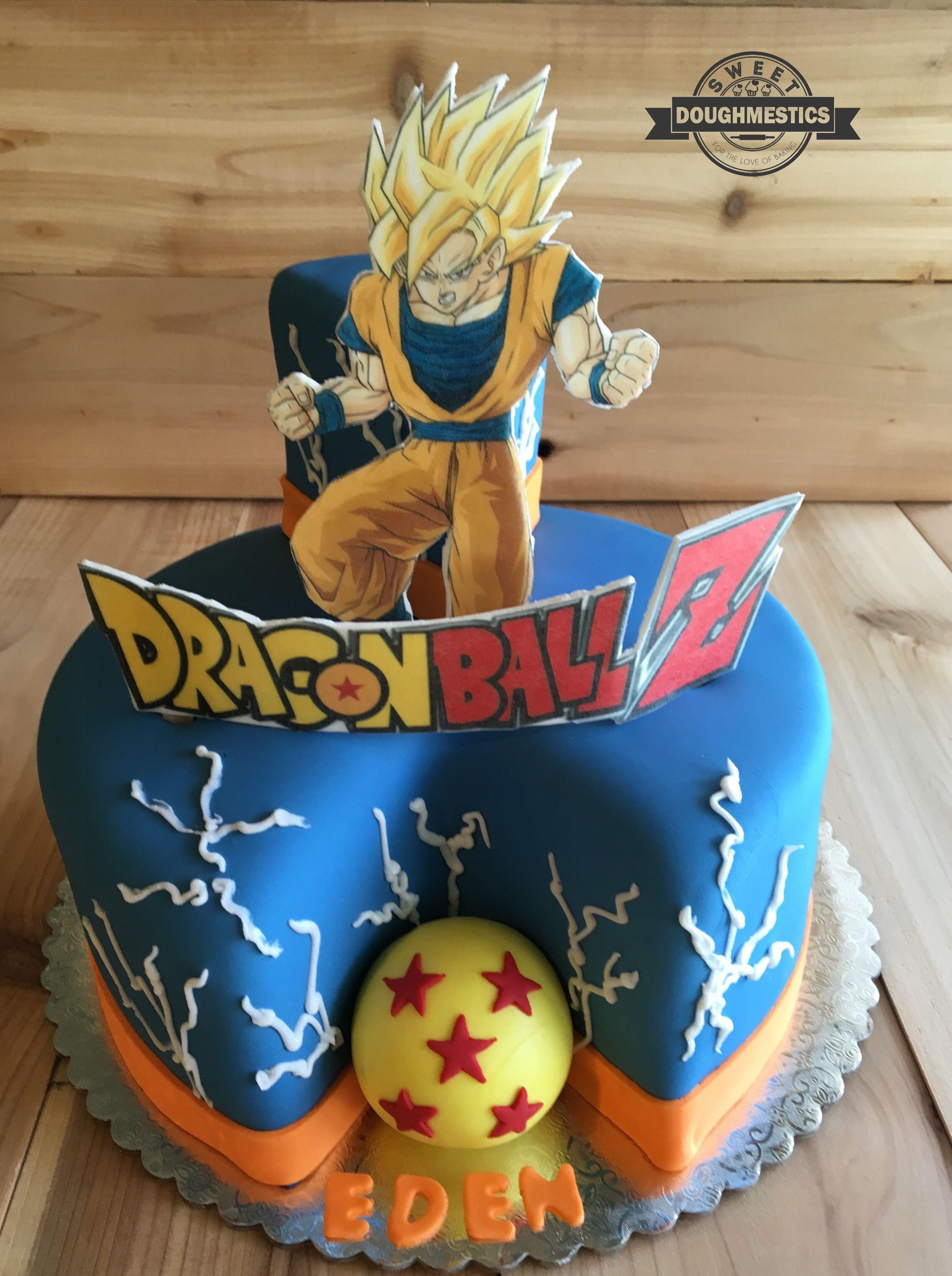 Dragon Ball Z Cake By Sweet Doughmestics Sweet