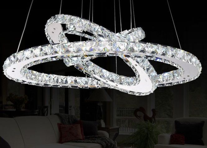 Luxury Crystal Chandelier For Home Commercial Decoration Lighting