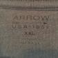 Menus arrow fleece jacket arrow navy blue and navy