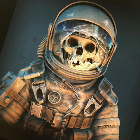 Image result for zombie astronaut