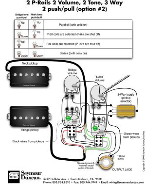 Wiring Diagrams Seymour Duncan  http:www