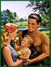 Ultra White Adam and Eve