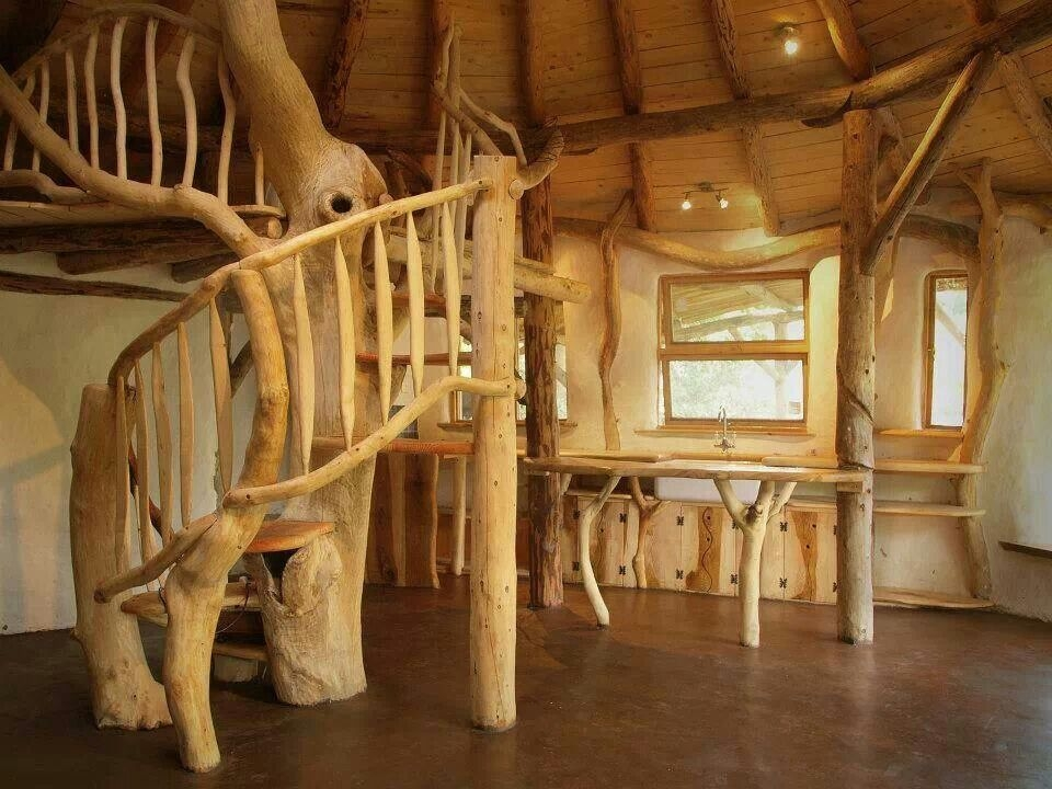 Cob And Tree Trunk Spiral Staircase Dream House Pinterest Spiral Staircases Tree Trunks | Spiral Staircase Tree Trunk