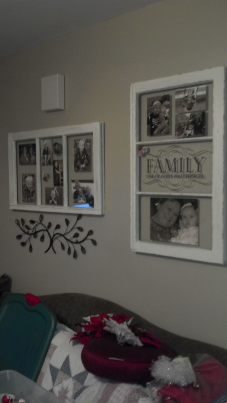 made from old windows  home decorating  Pinterest  Living rooms