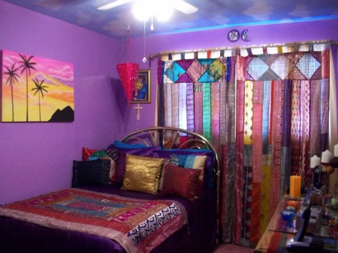 My Indian Inspired Bedroom