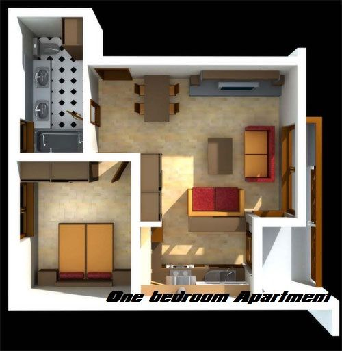 difference between studio apartment and one bedroom | bedroom