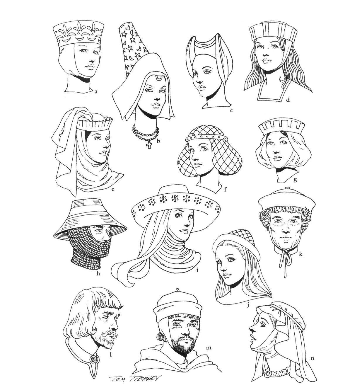 Jonkvrouwen En Ridders Uit De Middeleeuwen Te Gebruiken