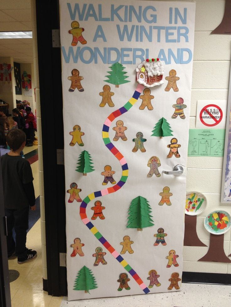 Winter Classroom Idea ~ Winter wonderland preschool classroom decorations