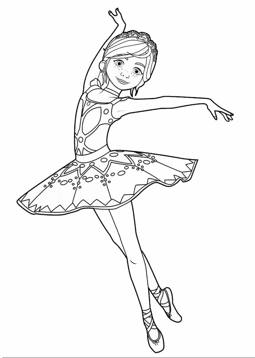Leap Movie Coloring Pages Trailer Ballerina And Movie
