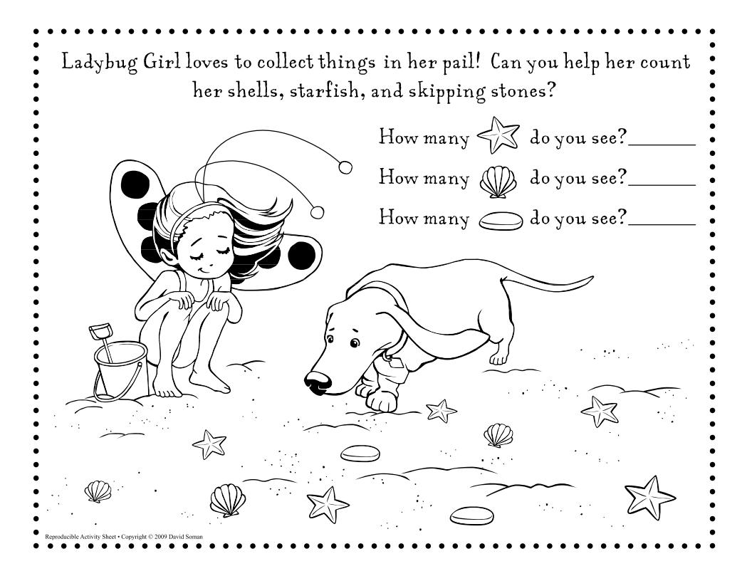 Tons Of Ladybug Girl Printable Activities