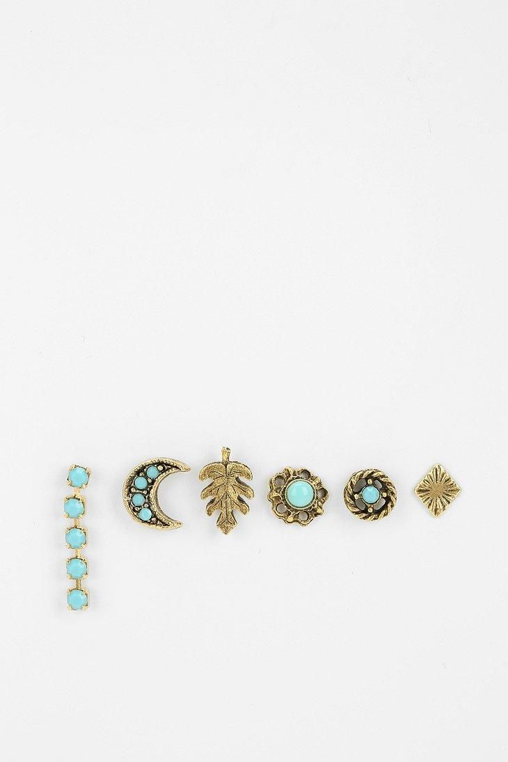 Dreamy Mix Match Earring Set urbanoutfitters  Piercings