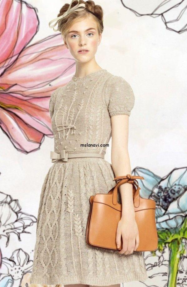 Модное-вязаное-платье-Red-Valentino.jpg (756×1156 ...