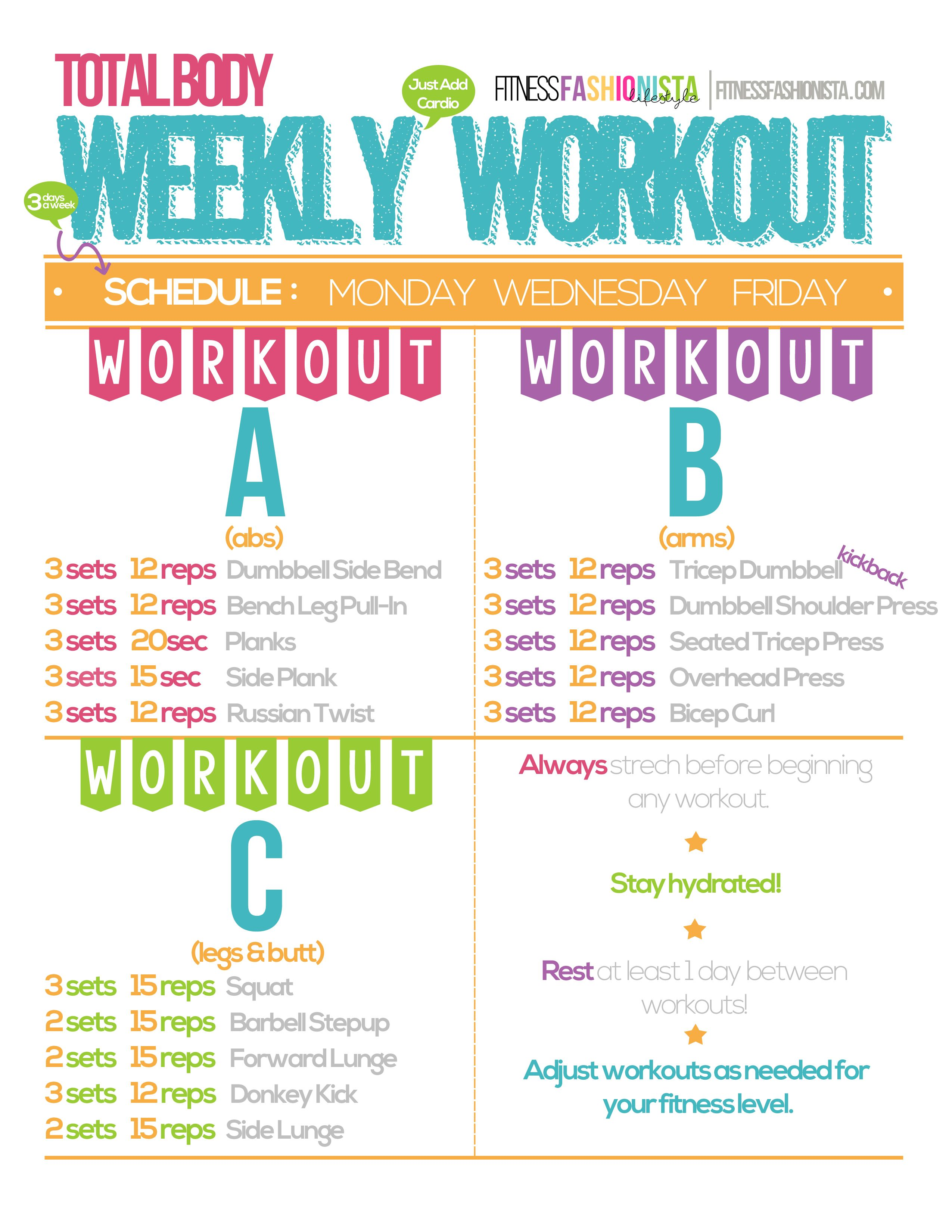 Weekly Weight Loss Plan Week 2