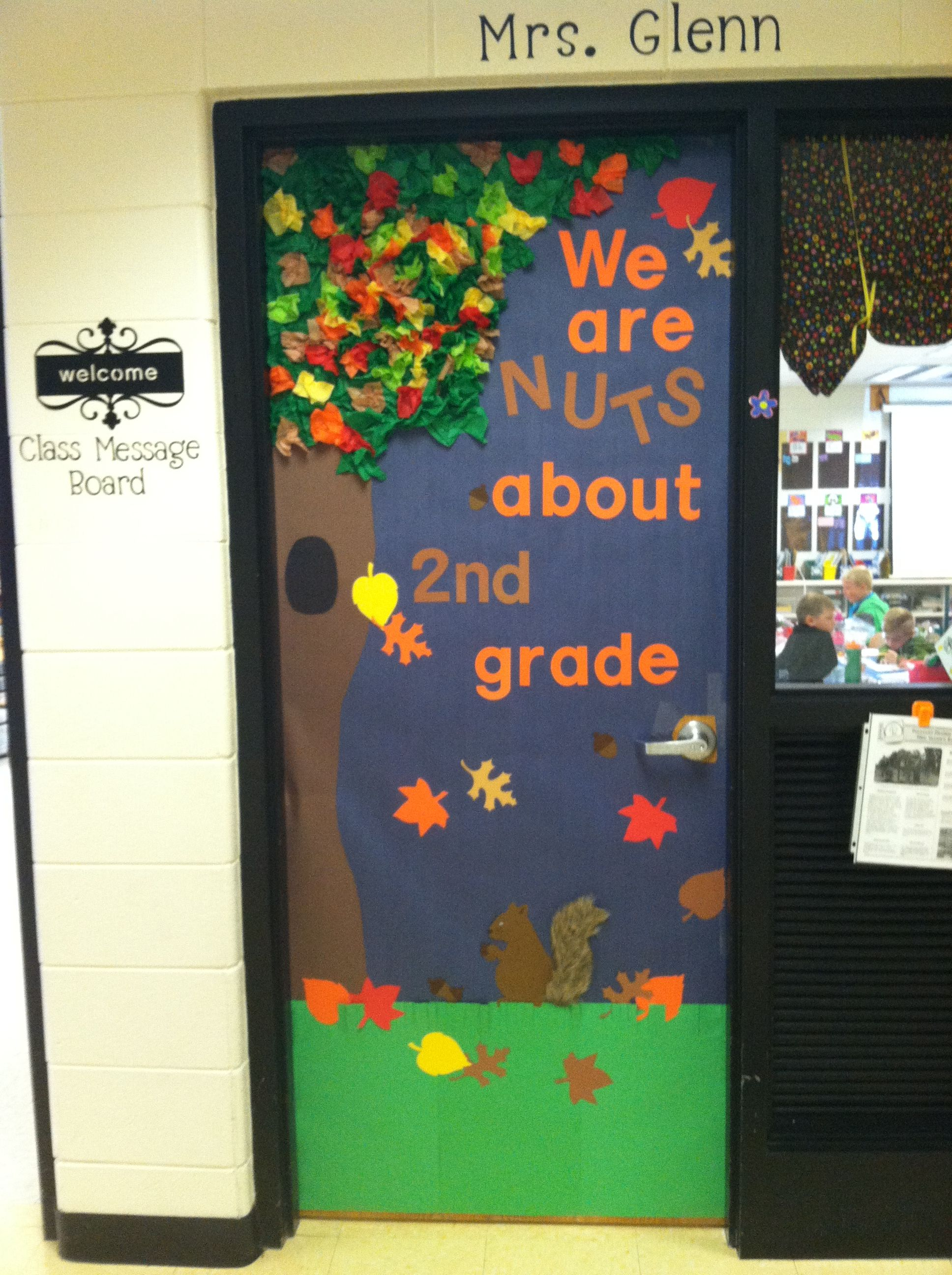 Halloween Classroom Door Decorations Ideas