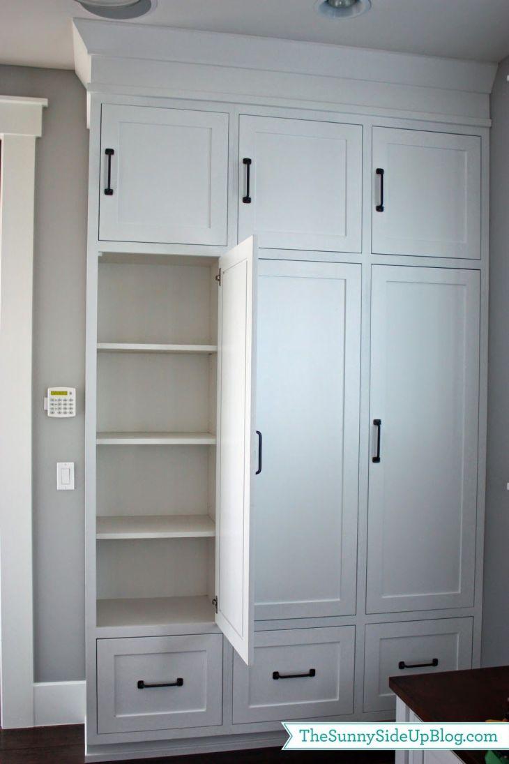 My new organized mudroom Small cabinet Lockers and Drawers