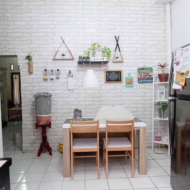 Desain Ruang Keluarga Dan Ruang Makan Menyatu
