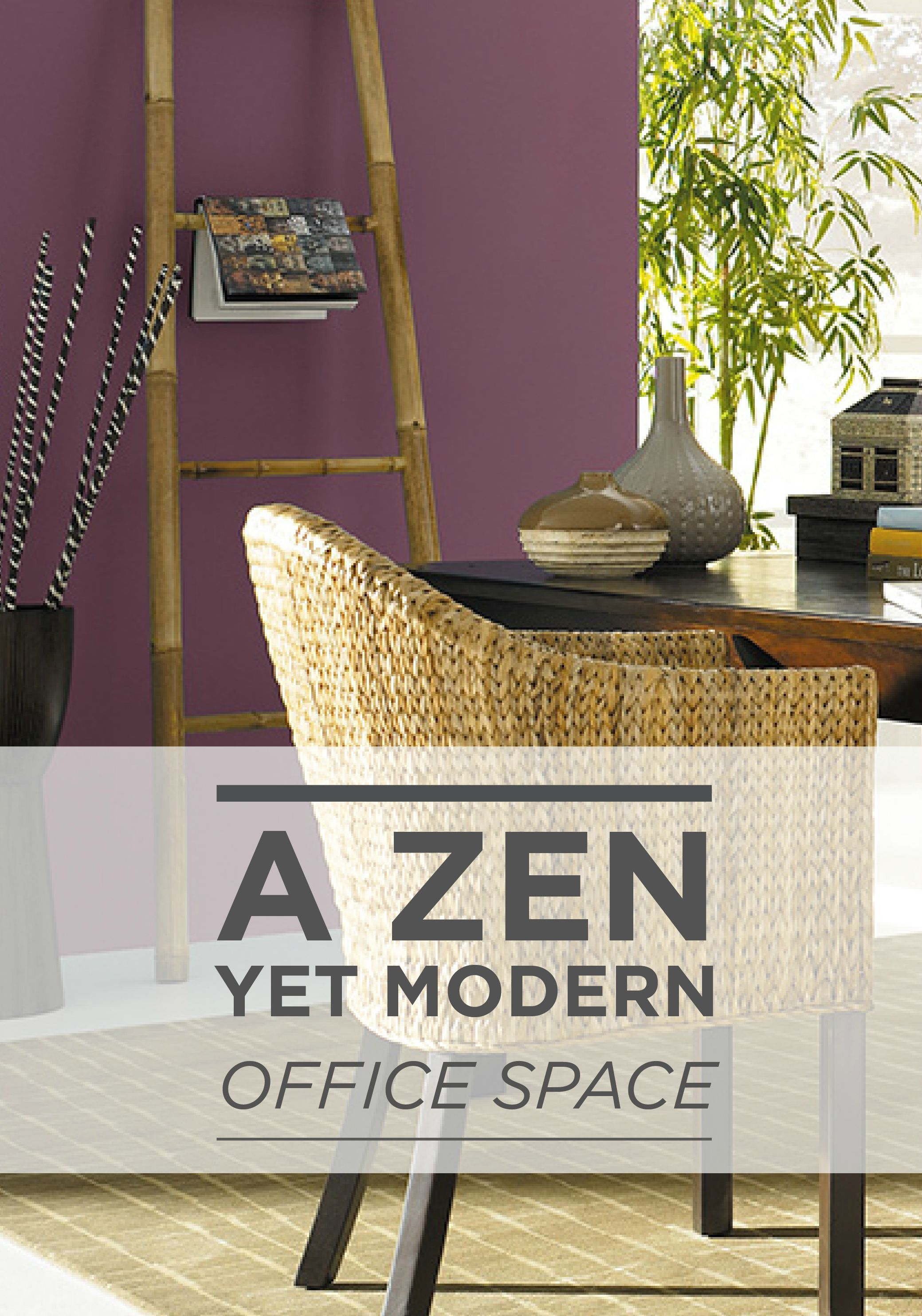 a zen yet modern office space can be achieved with a woven on modern office paint schemes id=14848