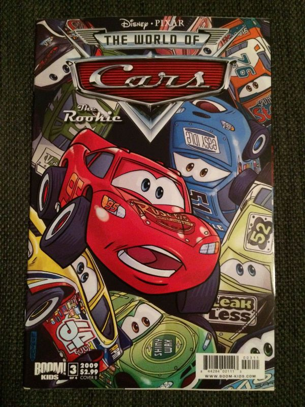 Cars: The Rookie from Disney Pixar published by Boom Kids ...