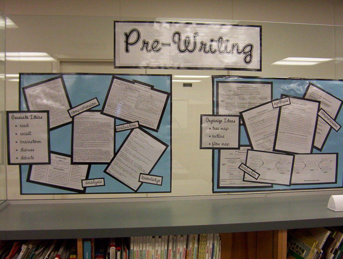 Bulletin Board Ideas For High School