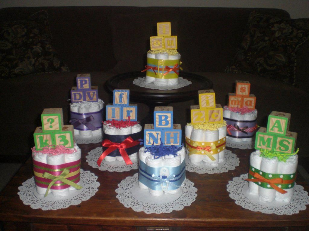 How To Make Diaper Cake For Baby Shower Instructions