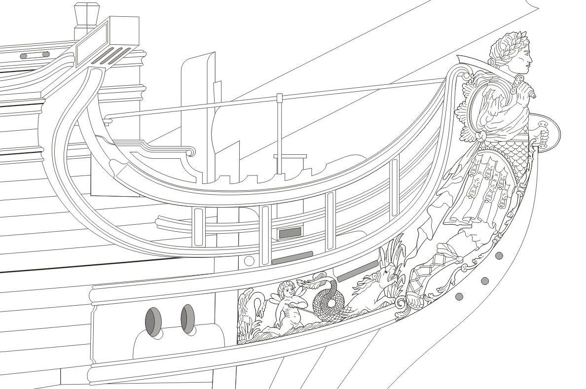 Black Pearl Model Ship Kit