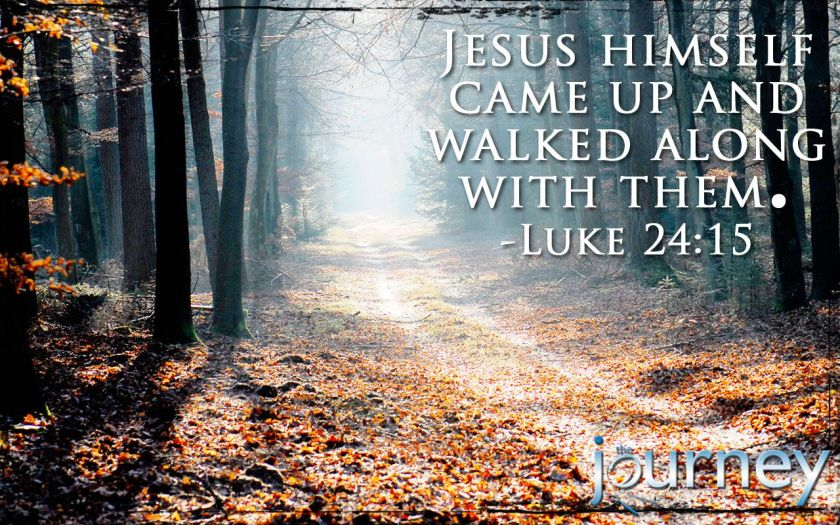 Image result for Luke 24:15