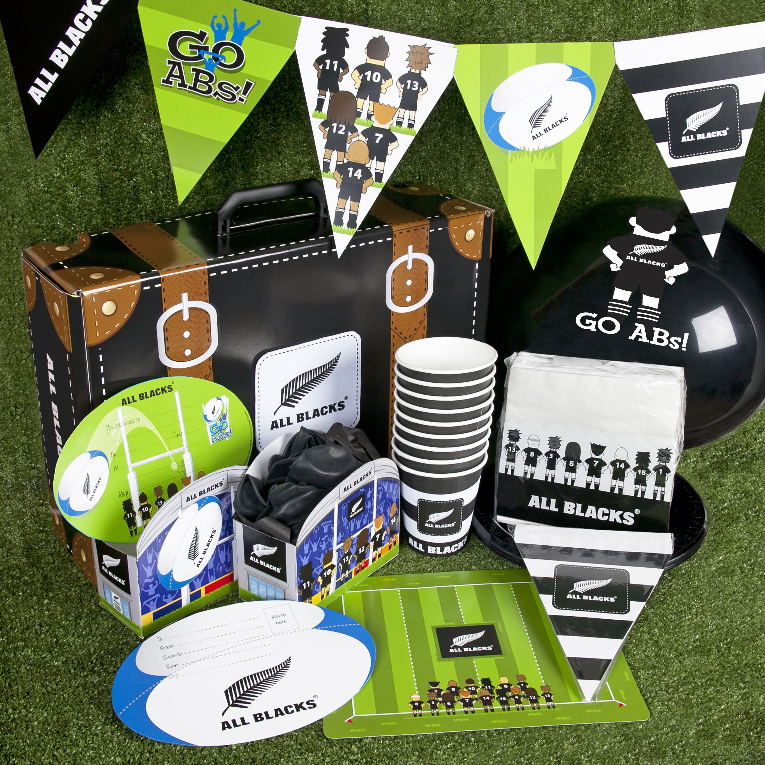Here S Some Of Our All Blacks Rugby Themed Party Supplies